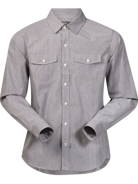 Bergans Justøy Shirt LS Men Solid Grey